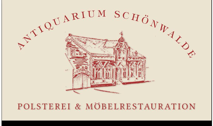 Polstereibetrieb im Antiquarium Schönwalde Logo
